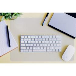 Floortex Desktex Polycarbonate Anti-Slip Desk Mat, 17 x 22, Clear