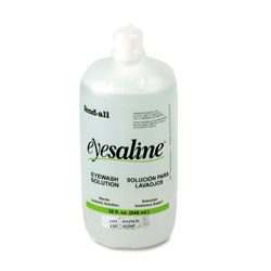 Honeywell Fendall Eyesaline Eyewash Bottle Refill, 32oz Bottle, 12/Carton