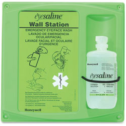 Fendall Company Eye Saline Wall Station, 8-1/2 in x 14-1/2 in x 24-1/2 in