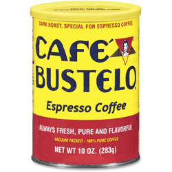 Cafe Bustelo Espresso Coffee, 10 oz Can