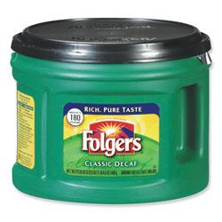 Folgers Coffee, Classic Roast Decaffeinated, Ground, 22 3/5oz Can