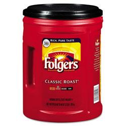 Folgers Coffee, Classic Roast, 48oz Can