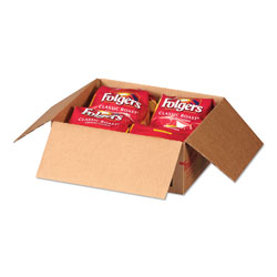 Folgers Coffee Filter Packs, Classic Roast, .9 oz, 10 Filters/Pack, 4 Packs/Carton