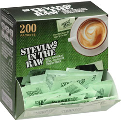 Folgers Stevia In The Raw Zero Calorie Sweetner, 200/BX, GN