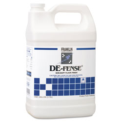 Franklin Cleaning Technology DE-FENSE Non-Buff Floor Finish, Liquid, 1 gal. Bottle
