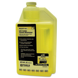 Franklin Cleaning Technology T.E.T. #20 UHS Combo Floor Cleaner/Maintainer, Citrus Scent, 2qt. Bottle, 2/CT