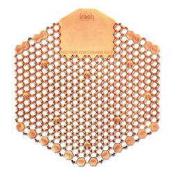 Fresh Products Wave 3D Urinal Deodorizer Screen, Orange, Mango Fragrance, 10 Screens/Box