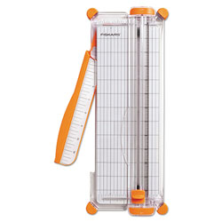 Fiskars Personal Paper Trimmer, 7 Sheets, 12 in Cut Length