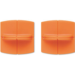 Fiskars Replacement Steel Blade Carriage for 12 in Portable Trimmer, 2/Pack