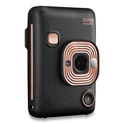 Fuji Instax Mini LiPlay Instant Camera, Elegant Black