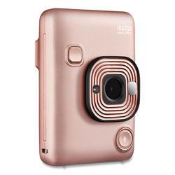 Fuji Instax Mini LiPlay Instant Camera, Blush Gold