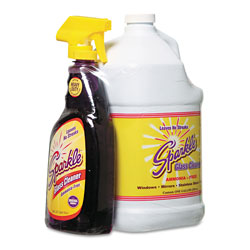 Sparkle Glass Cleaner, One Trigger Bottle & Onegal Refill