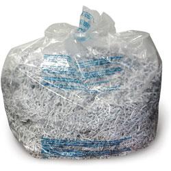 GBC® Shredder Bags for GBC 5000, 6000 & 7000 Series Shredders, 40 gal, Clear, 100/BX
