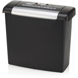 GBC® Shredder, Strip-Cut, P-2, 6-1/10 inWx12-3/5 inLx11-3/10 inH, Bkce