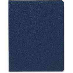 GBC® Designer Premium Plus Presentation Backs, 11 1/4 x 8 3/4, Navy Blue, 25/Pack