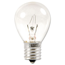 GE Incandescent S11 Appliance Light Bulb, 40 W