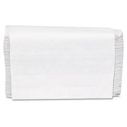GEN Folded Paper Towels, Multifold, 9 x 9 9/20, White, 250 Towels/Pack, 16 Packs/CT
