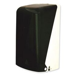 GEN Two Roll Household Bath Tissue Dispenser, 5.51 in x 5.59 in x 11.42 in, Smoke