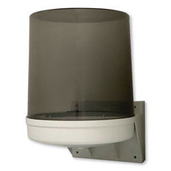 GEN Center Pull Towel Dispenser, 10 1/2 in x 9 in x 14 1/2 in, Transparent