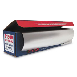 GEN Standard Aluminum Foil Roll, 18 in x 500 ft