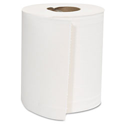 GEN Center-Pull Roll Towels, 2-Ply, White, 8 x 10, 600/Roll, 6 Rolls/Carton