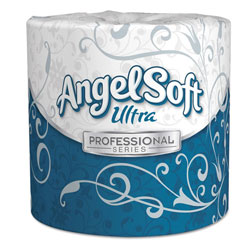 Angel Soft Angel Soft ps Ultra 2-Ply Premium Bathroom Tissue, White, 400 Sheets Roll, 60/Ct
