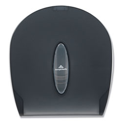 GP Jumbo Jr. Bathroom Tissue Dispenser, 10 3/5x5 39/100x11 3/10, Translucent Smoke