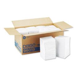 GP Beverage Napkins, Single-Ply, 9 1/2 x 9 1/2, White, 4000/Carton