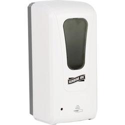 Genuine Joe Dispenser, Gel, 5-1/10 inWx4-1/2 inLx10-3/5 inL, White