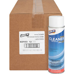Genuine Joe Glass and Multi-Surface Cleaner, Aerosol Can, 19 oz., 12/CT