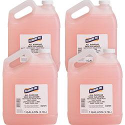Genuine Joe Hand Soap Lotion, Dispenser Refill, 1Gal, 4/CT, Pink