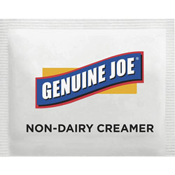 Genuine Joe Non-Dairy Creamer Packets, 800/PK, White