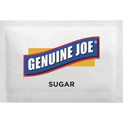 Genuine Joe Sugar Packets, 1200/PK, White