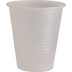 Genuine Joe 12 Oz Cold Plastic Cups, Clear, Pack of 1000