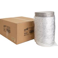 Genuine Joe Aluminum Round Food Container, 9 in, 500/CT, Silver