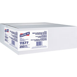 Genuine Joe Reclosable Gallon Bags, 1.75mil, 250/BX