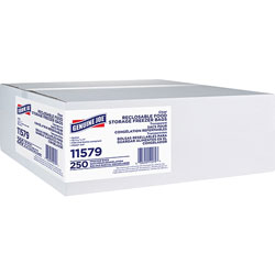 Genuine Joe Reclosable Freezer Storage Bags, 1 Gallon, 2.7mil, 250/BX
