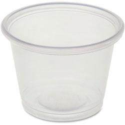 Genuine Joe Portion Cups, 1oz., 50BG/CT, Clear