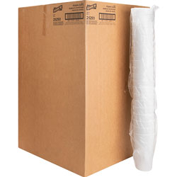 Genuine Joe Styrofoam Cups, 20 oz, 500 CT, White