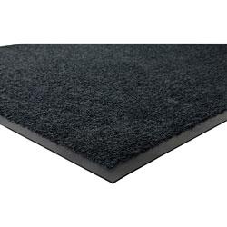 Genuine Joe Nylon & Rubber Nylon & Rubber Carpet Mat, 4' x 6', Black