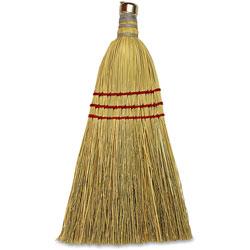 Genuine Joe Clean Sweep Wisk Broom, Natural