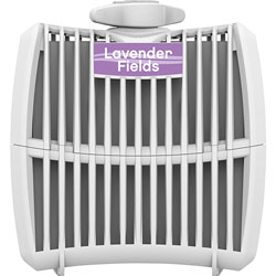 Genuine Joe Air Freshener Cartridge, Lavender Fields, 12/CT