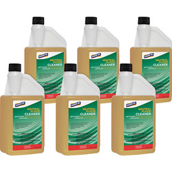 Genuine Joe Floor Cleaner, Concentrated, Neutral pH, 32 oz, 6/CT