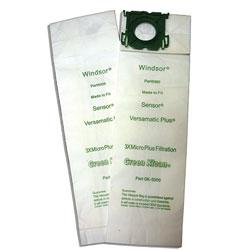 Green Klean Windsor Triple Layer Replacement Vacuum Bags, 100 Bags