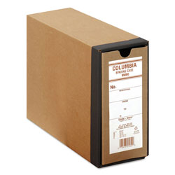 Globe Weis COLUMBIA Recycled Binding Cases, 2 Rings, 2.5 in Capacity, 11 x 8.5, Kraft