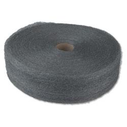 Global Material Industrial-Quality Steel Wool Reel, #1 Medium, 5-lb Reel, 6/Carton