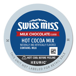 Swiss Miss Milk Chocolate Hot Cocoa K-Cups, 24/Box