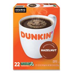 Dunkin' Donuts K-Cup Pods, Hazelnut, 22/Box
