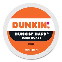 Dunkin' Donuts K-Cup Pods, Original Dark Roast, 22/Box