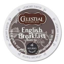 Celestial Seasonings® English Breakfast Black Tea K-Cups, 24/Box